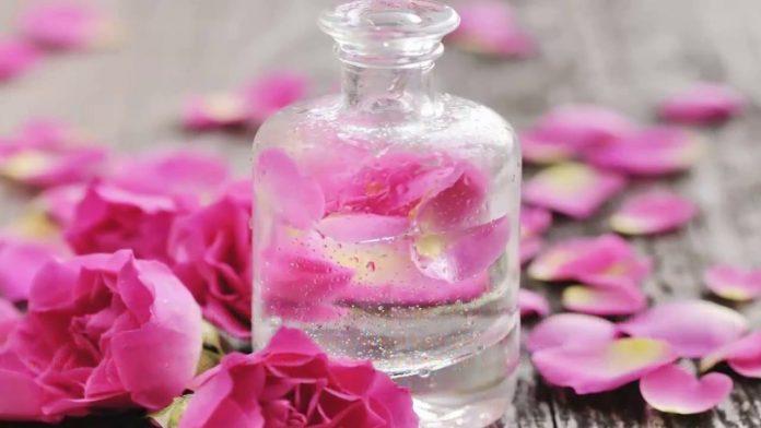 tác dụng của nước hoa hồng