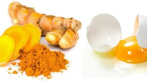 Trứng gà và mật ong