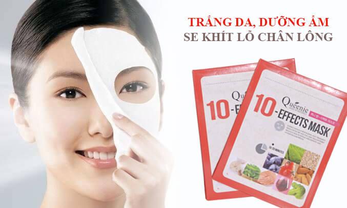 Sử dụng tẩy tế bào chết và đắp mặt nạ giúp dưỡng trắng da