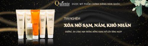 Đăng ký trải nghiệm dược mỹ phẩm Queenie Hàn Quốc xóa mờ sạm nám, tàn nhang
